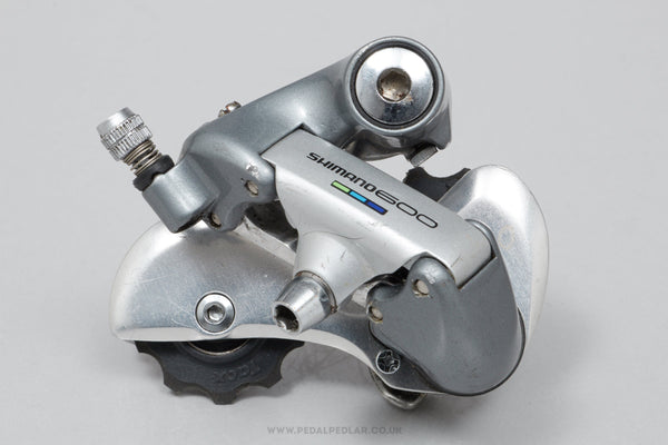 Shimano 600 (RD-6400) c.1990 Classic Rear Mech - Pedal Pedlar - Bike Parts For Sale