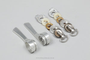 Campagnolo C-Record Friction (0118074) Vintage Braze-On Downtube Shifters - Pedal Pedlar - Bike Parts For Sale
