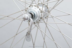 Campagnolo Nuovo Tipo (1251) / Wolber Super Champion Module 58 Vintage 700c Clincher Road Wheels - Pedal Pedlar - Bicycle Wheels For Sale