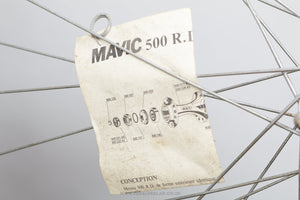 "Mavic 500 RD / Mavic GP 4 Vintage 28""/700c Tubular Road Wheels - Pedal Pedlar - Bicycle Wheels For Sale"
