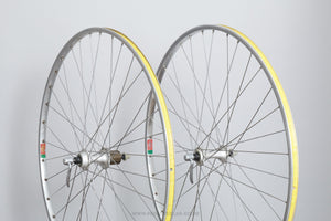 Shimano 105 (HB-1055/FH-1055) / Mavic Module E/Mavic MA2 c.1990 Classic 700c Clincher Road Wheels - Pedal Pedlar - Bicycle Wheels For Sale
