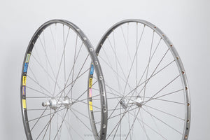 "Shimano Dura-Ace (HS-731/HS-831) / Mavic GL 330/GP 4 c.1977 Vintage 28""/700c Tubular Road Wheels - Pedal Pedlar - Bicycle Wheels For Sale"