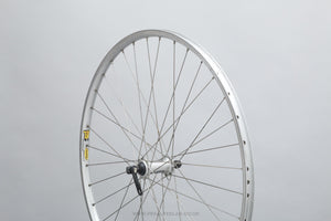Shimano Deore (HB-M510) / Mavic T224 Classic 700c Clincher Touring Front Wheel - Pedal Pedlar - Bicycle Wheel For Sale