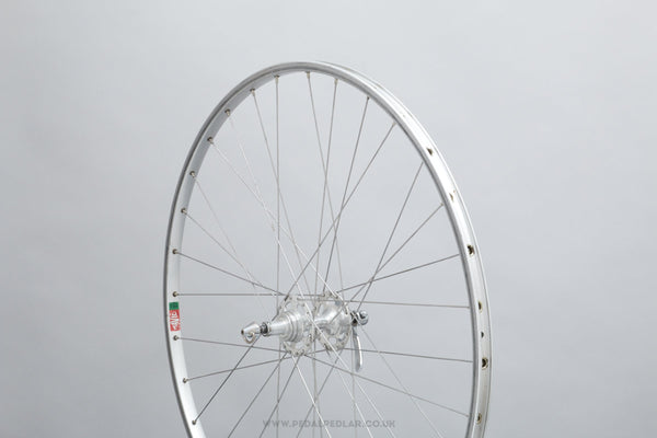 Maillard 700 Large Flange / Mavic MA2 Argent Vintage 700c Clincher Road Rear Wheel - Pedal Pedlar - Bicycle Wheel For Sale