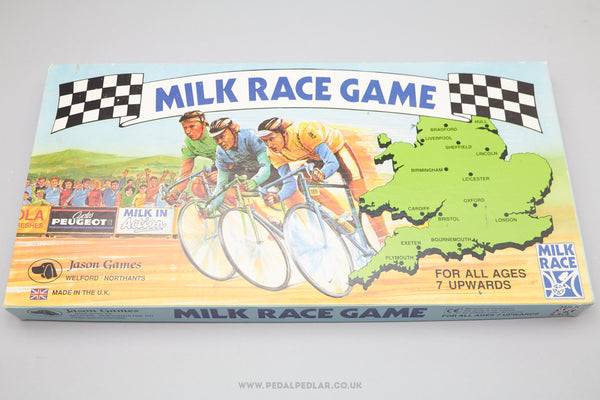Milk Race Board Game c.1980 by Jason Games