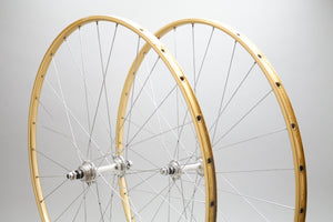 Campagnolo Record Track / Mavic OR10 Vintage Track Wheelset
