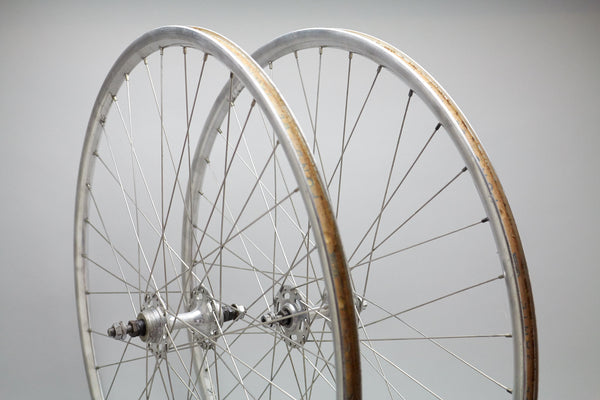 Normandy / Campagnolo Lambda Vintage Single Speed / Track Wheelset