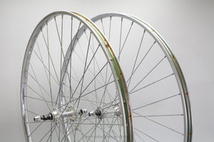 Atom / Rigida Superchromix Vintage Steel Road Wheelset