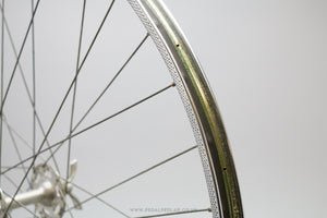 Normandy / Rigida Superchromix Vintage Clincher Front Wheel