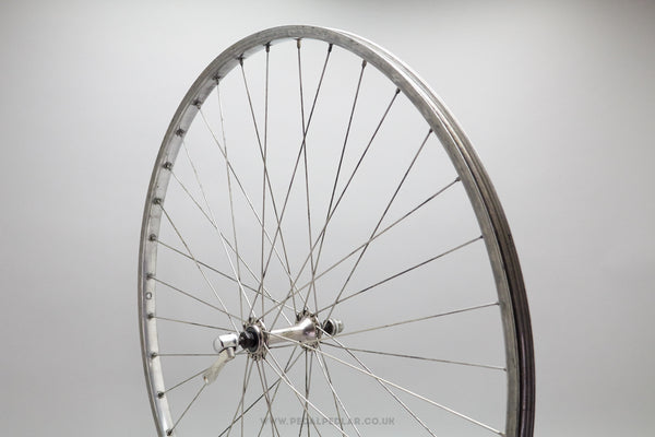 Shimano Exage / Alloy Vintage Clincher Front Wheel