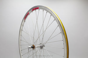 Shimano / Rigida DP18 Vintage Clincher Front Wheel