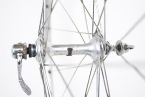 Campagnolo Record / Mavic Monthlery Route Vintage Front Wheel - Pedal Pedlar  - 2