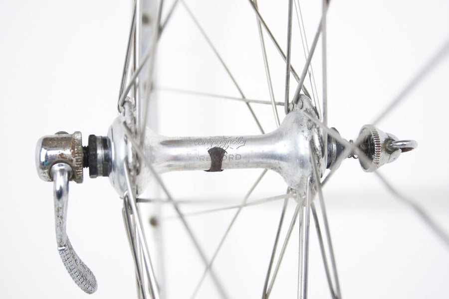 Campagnolo Record / Mavic Monthlery Route Vintage Front Wheel - Pedal Pedlar  - 1