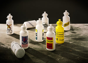 Classic Water Bottles/Bidons in Retro Team Designs