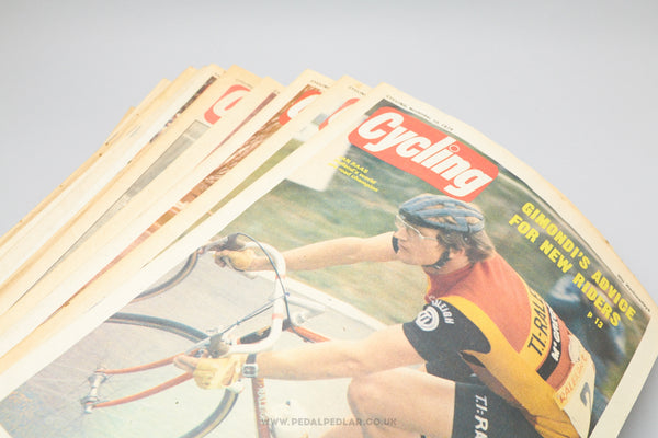 Cycling - Vintage Cycling Magazines - Issues from 1975 to 1980