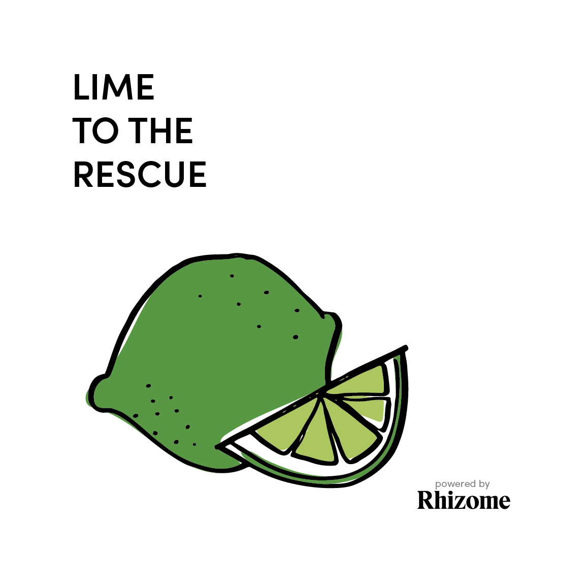LIME TO THE RESCUE