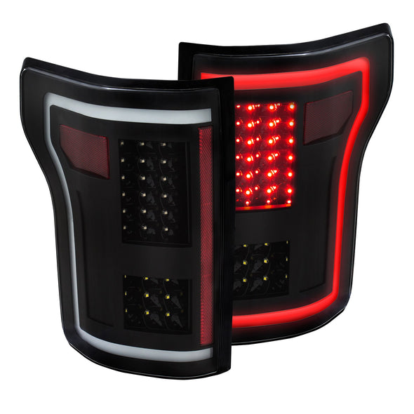 Anzo 2015-2017 F150 G2 LED Tail Light Set - 311285