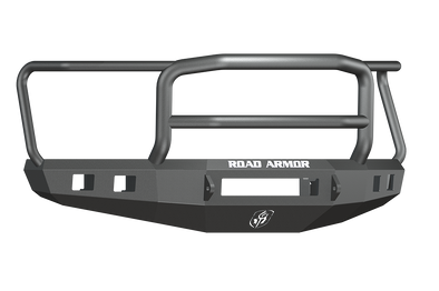 Road Armor 2015-2017 F150 Black Stealth Bumper with Lonestar Guard - 615R5B-NW