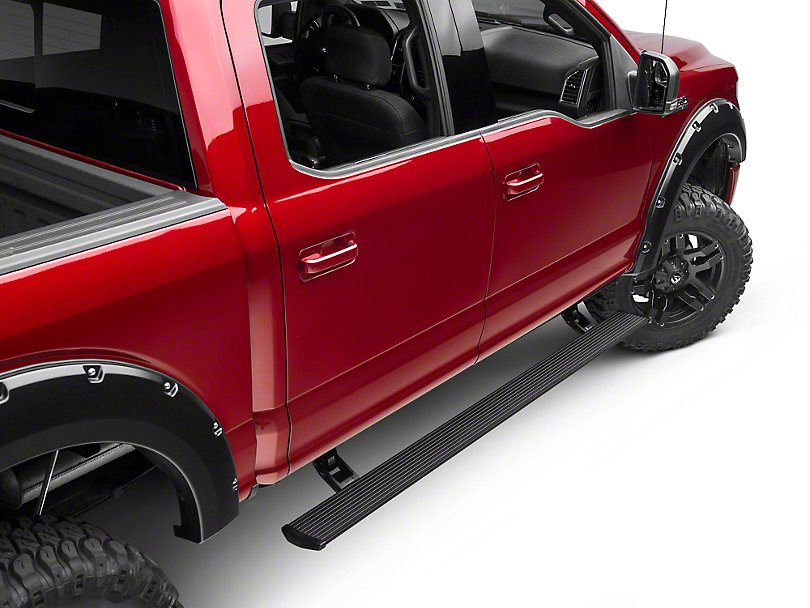 Electric Running Boards >> Amp Research 76151 01a Powerstep Electric Running Boards 2015 2018 Ford F150 All Cabs