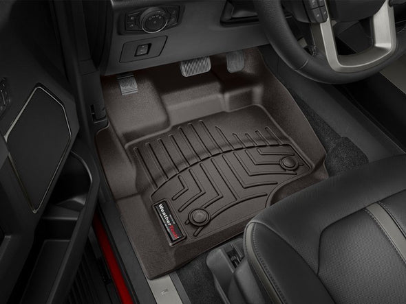 44697-1-2 WeatherTech Front & Rear FloorLiner 2015-2018 F150 Supercrew