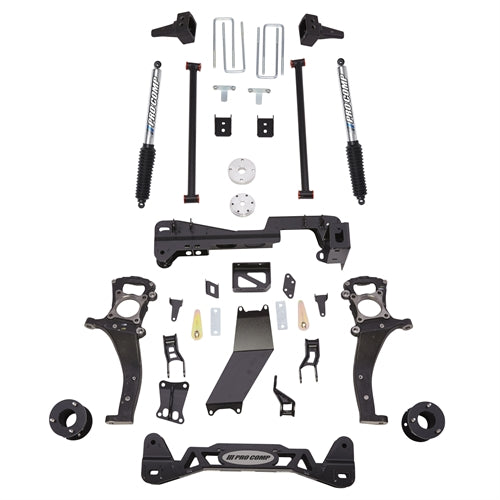 Pro Comp 6 Inch Stage I Lift Kit with Pro Runner Shocks 2015-2017 4WD - K4189BP