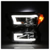 Spyder 2015-2017 F150 Chrome/Clear Projector Headlight Set - 5083661
