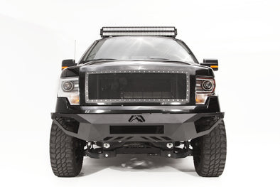 Fab Fours Vengeance Series Front Bumper NO GUARD in Black Powder Coat - FF09-D1951-1