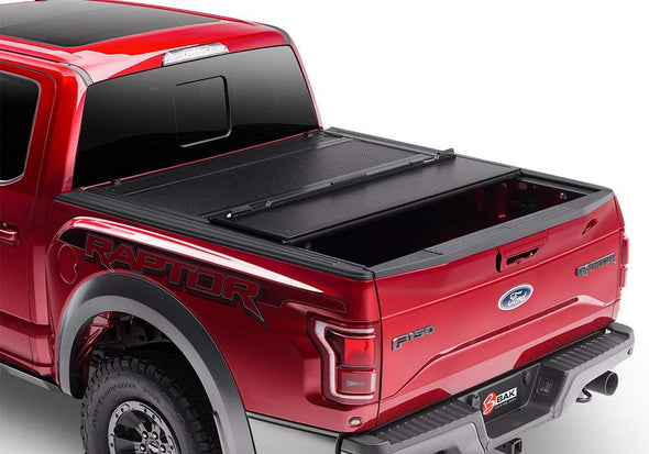 BAKFlip F1 2015-2018 Ford F-150 Hard Folding Truck Bed Cover 6.5' Bed - 772327