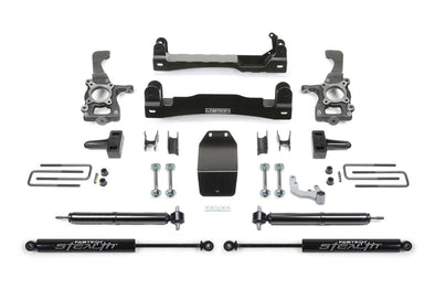 Fabtech 4 Inch Basic Lift Kit w/rear Stealth Shocks – K2193M