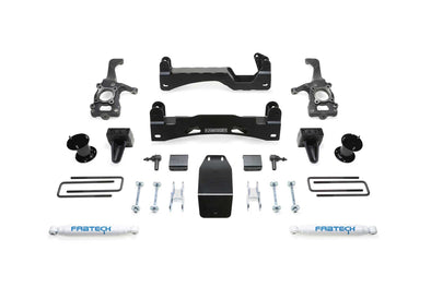 Fabtech 6 Inch Basic Lift Kit w/Performance Rear Shocks - 2015 Ford F-150 w 4WD K2194