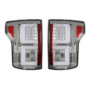 Recon F-150 LED Tail Light Assembly (Clear) - 264268CL