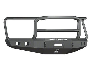 Road Armor 2015-2017 F150 Black Stealth Winch Bumper with Lonestar Guard - 615R5B