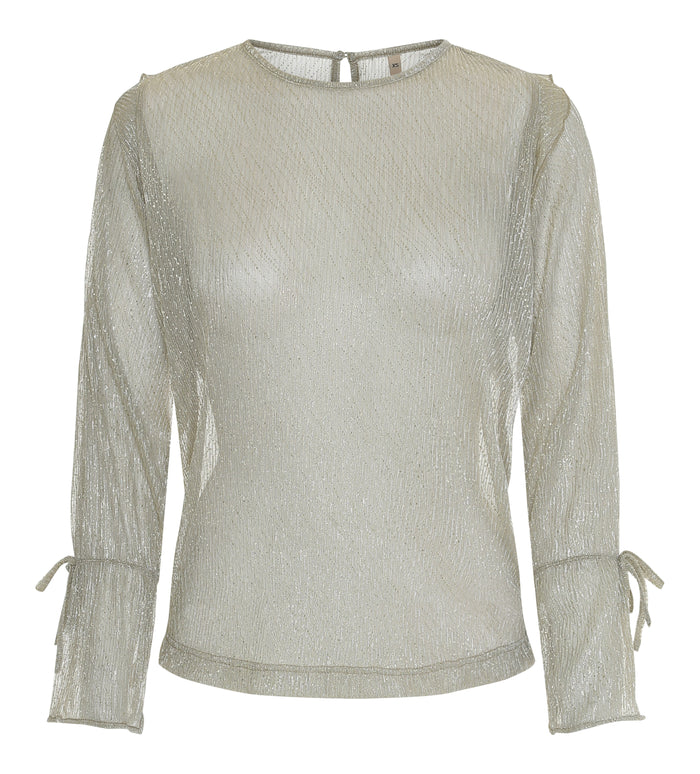 Champaign Lavish Metallic Top