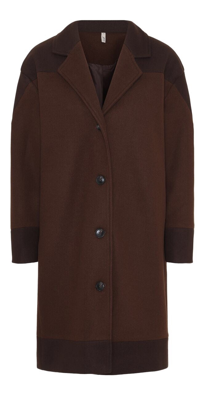 Ombré Coat Brown