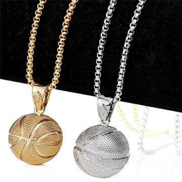 2019 New Hot Fashion Street Style Basketball Necklace