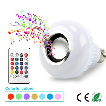 LED RGB Bluetooth Speaker Light