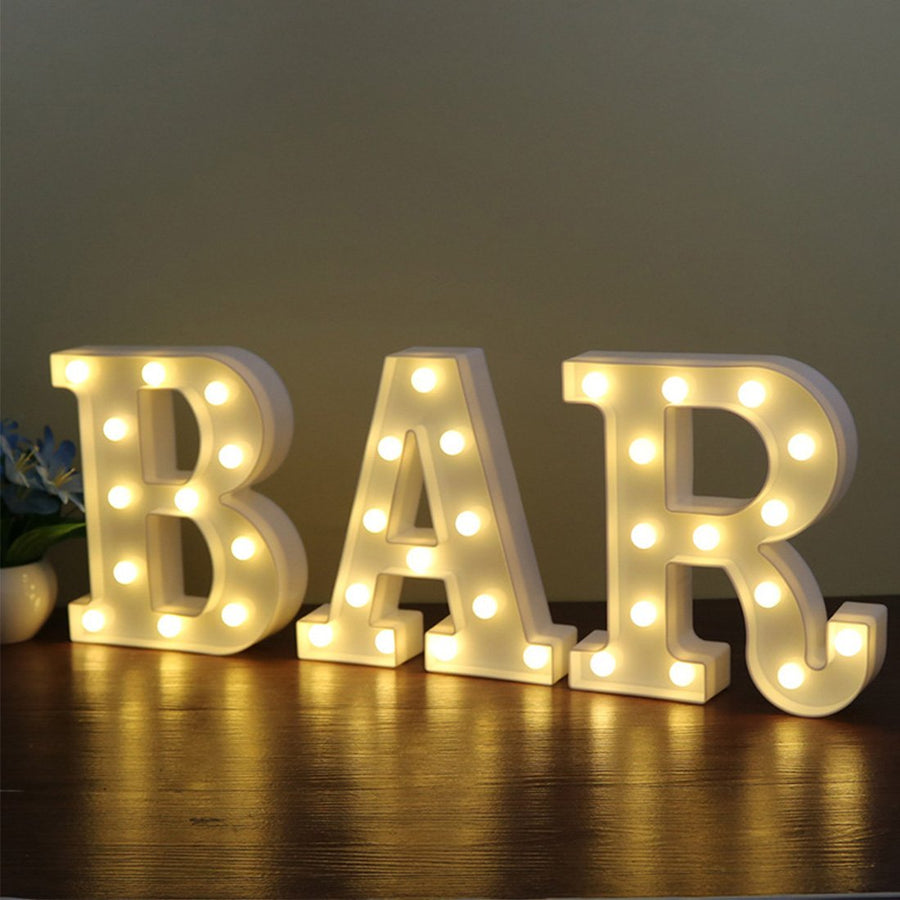 26 Letters LED Lamp