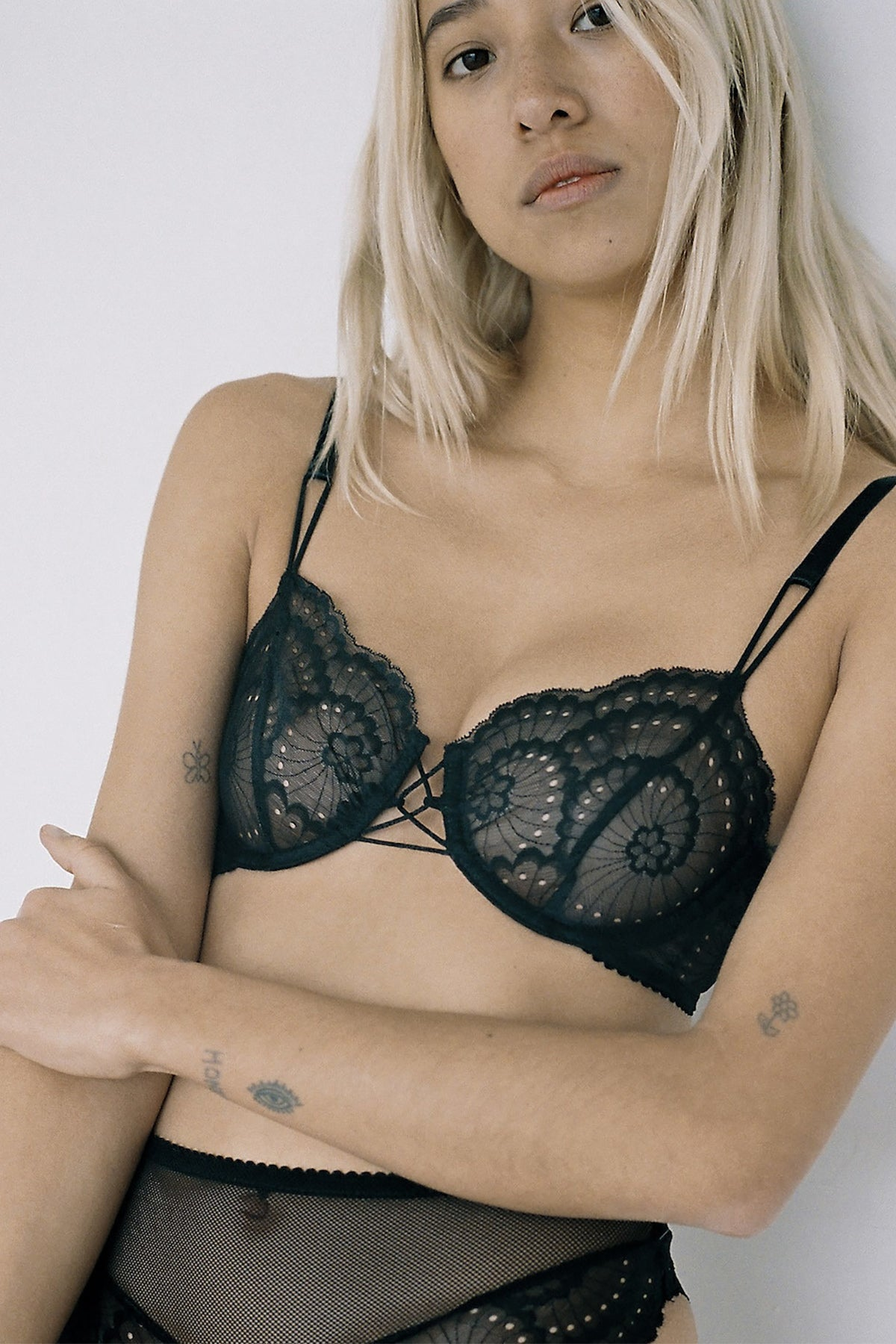 Lonely Delilah Underwire Bra // Black