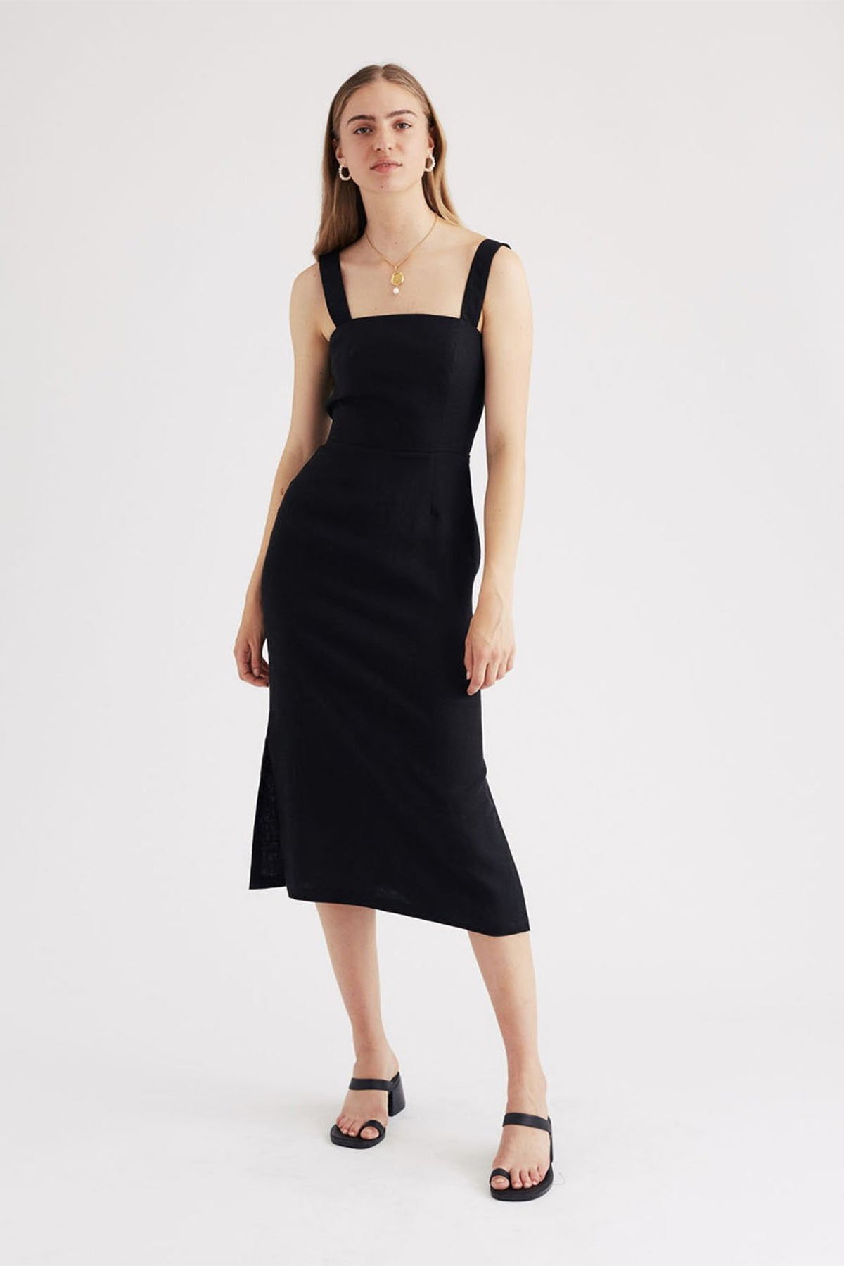 Jillian Boustred Valerie Dress // Black