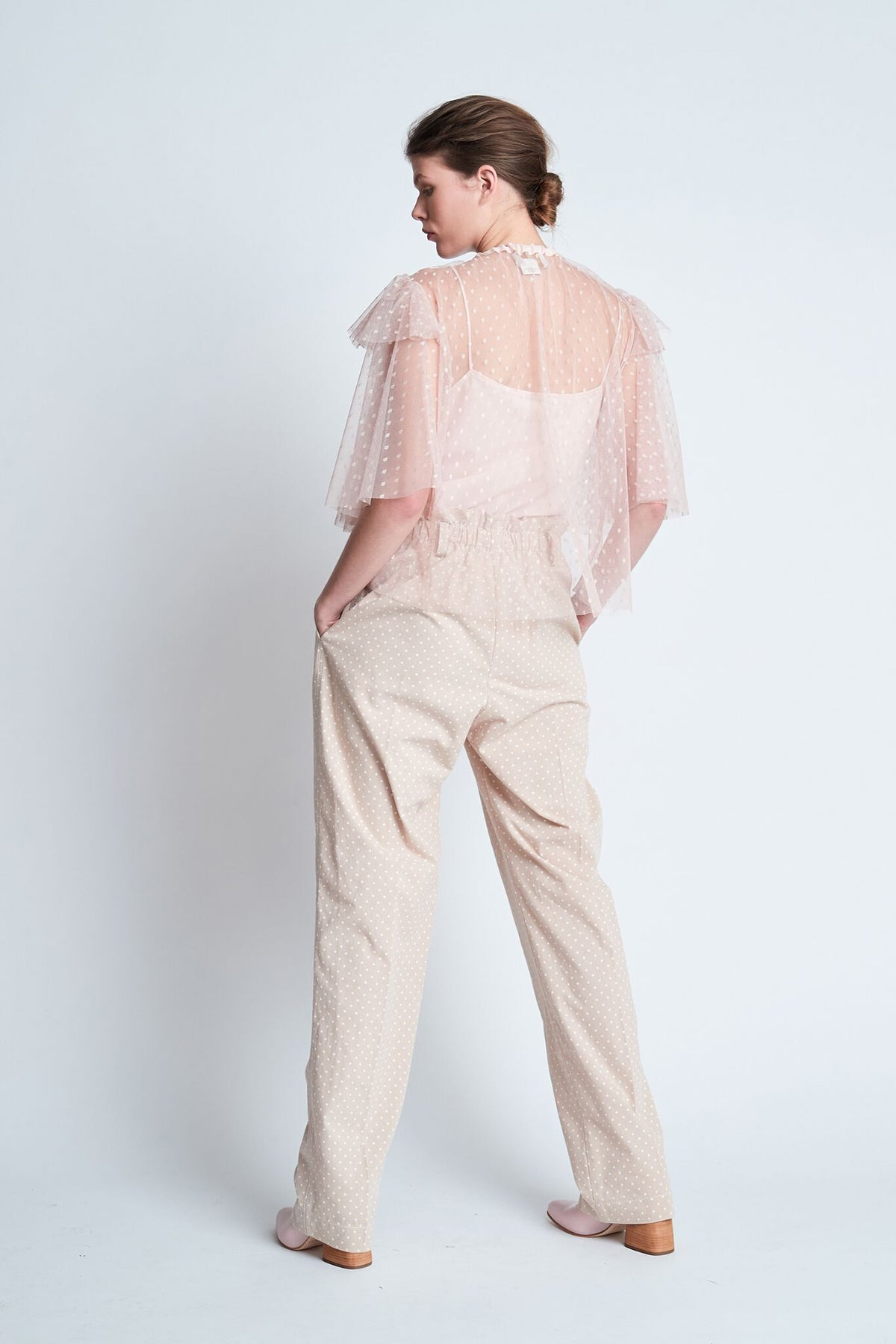 Karen Walker Pimpernal Top // Pink
