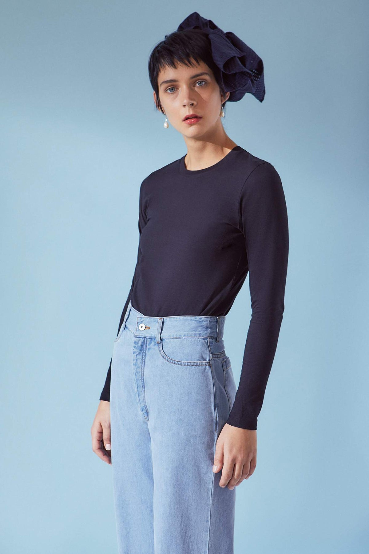Kowtow Long Sleeve Tee // Black