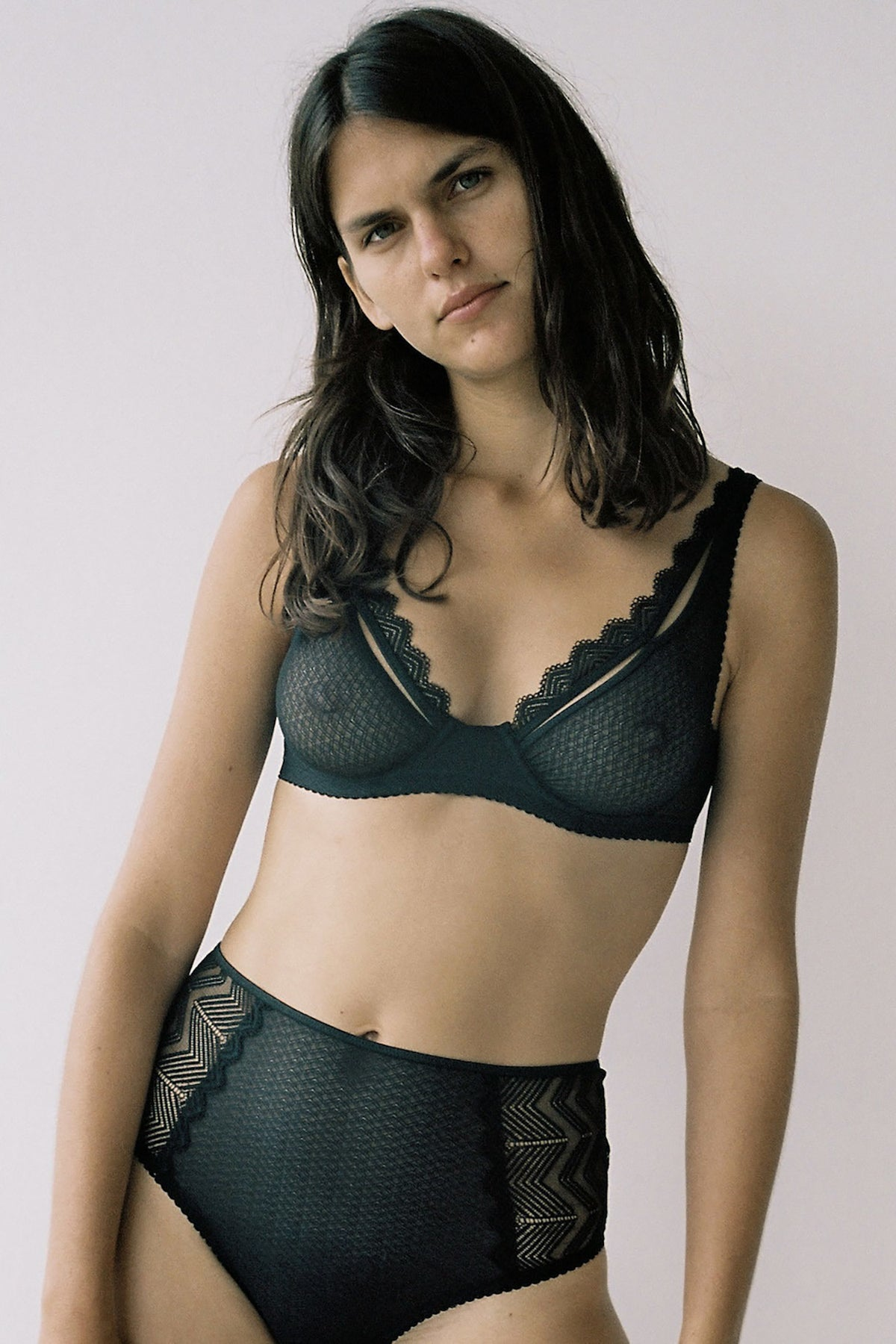 Lonely Misha Underwire Bra // Black