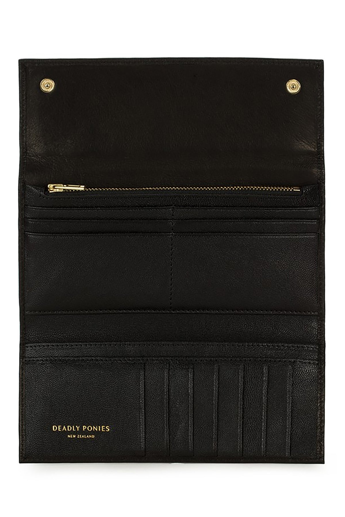 Deadly Ponies Lady Wallet // Black