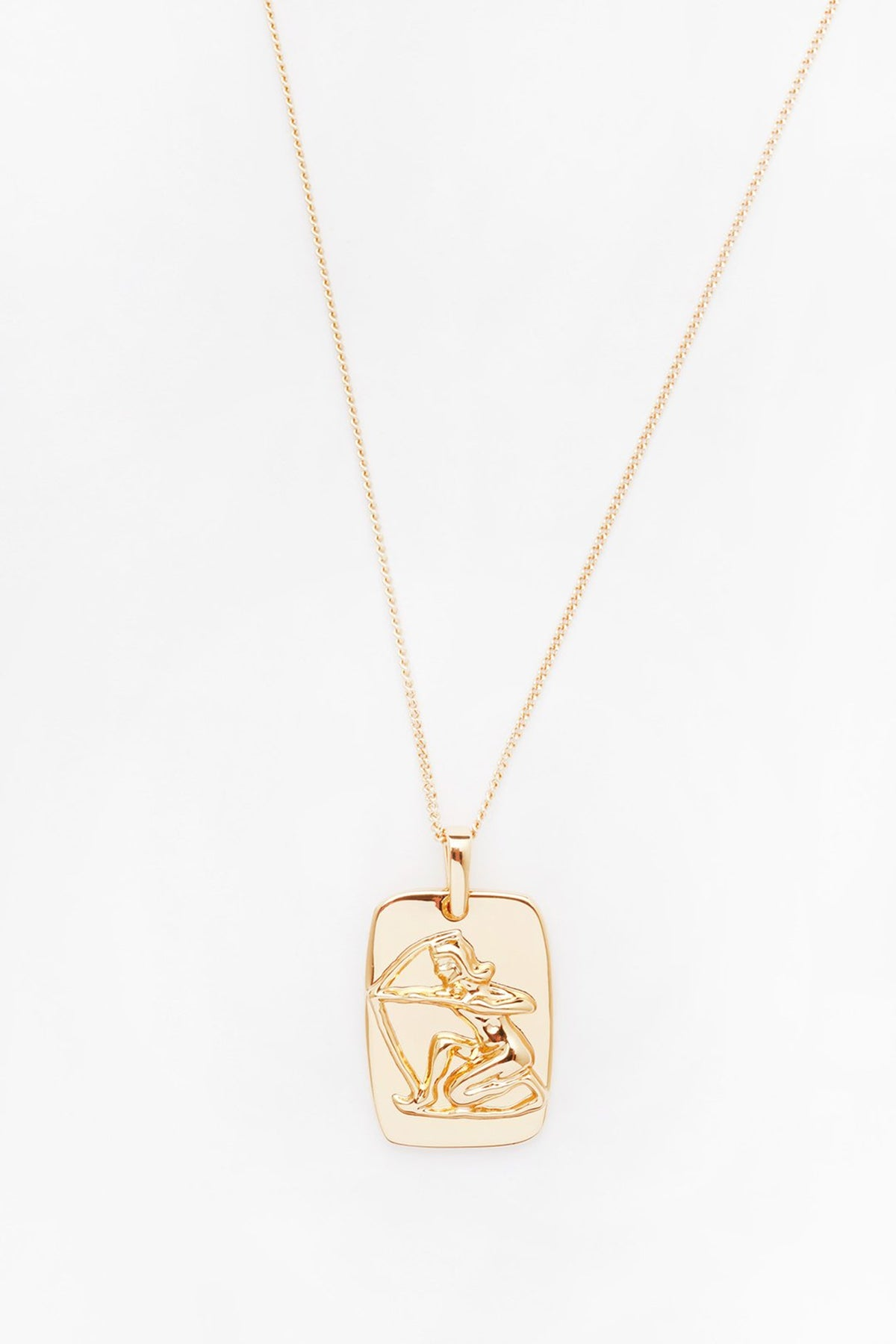 Reliquia Sagittarius Star Sign Necklace  GRAPHIC // Gold