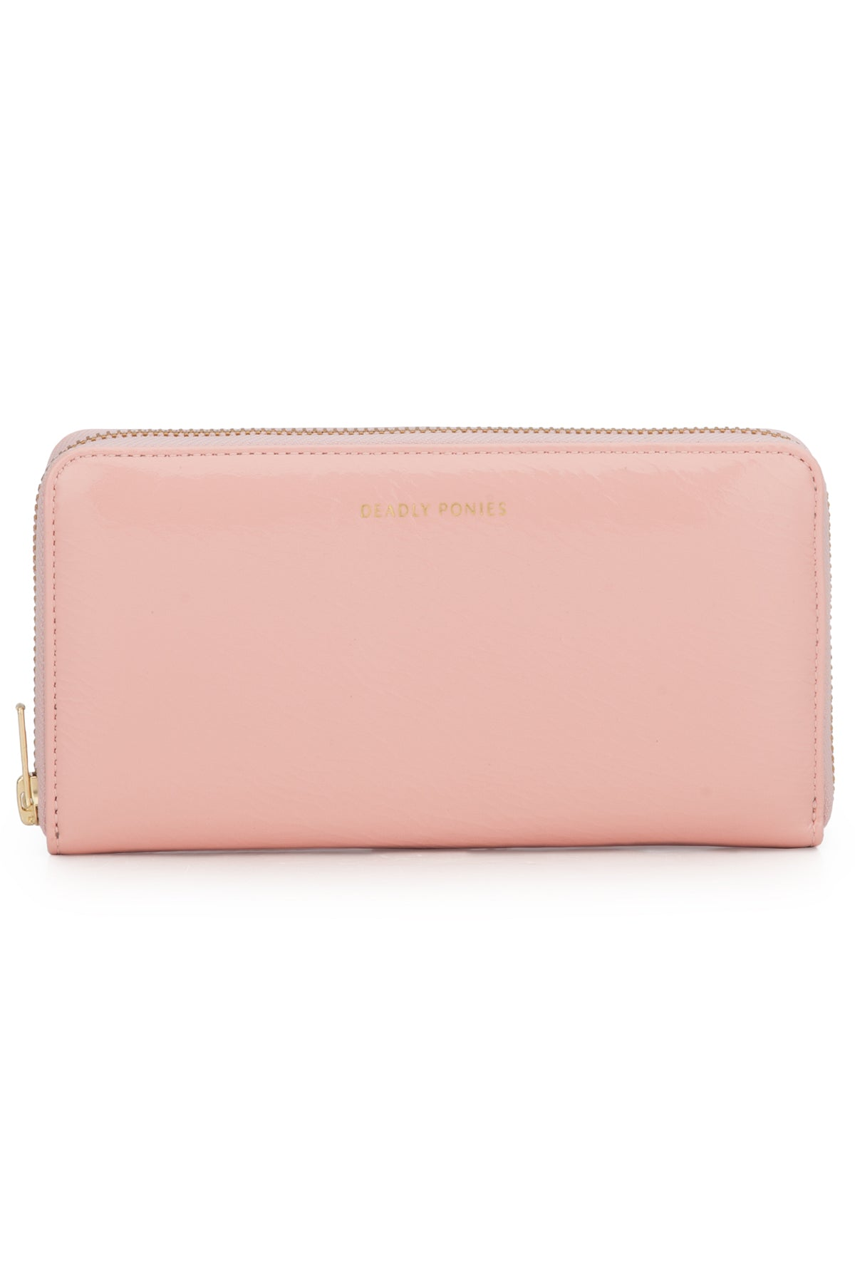 Deadly Ponies Mr Wallet Patent // Mushy Blush