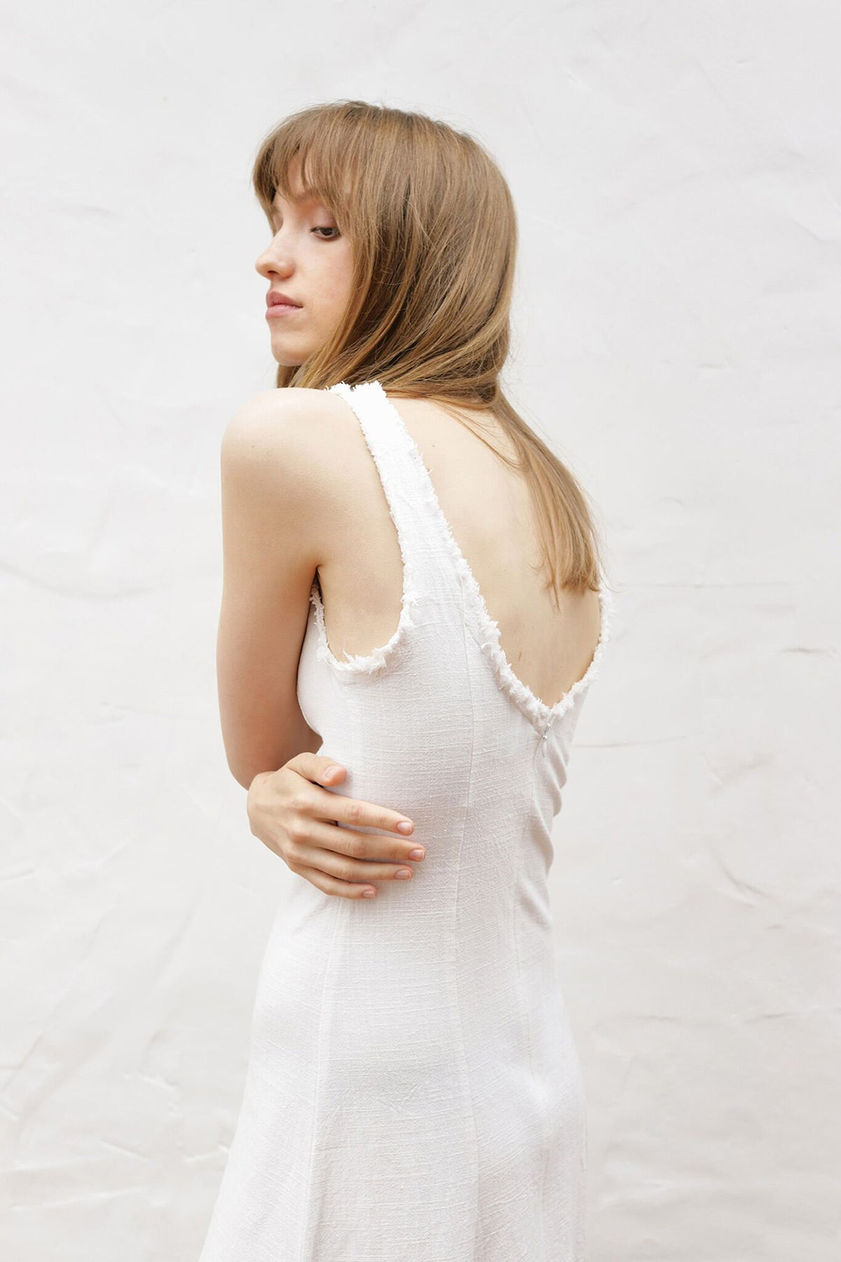 Marle Romy Dress // Ivory
