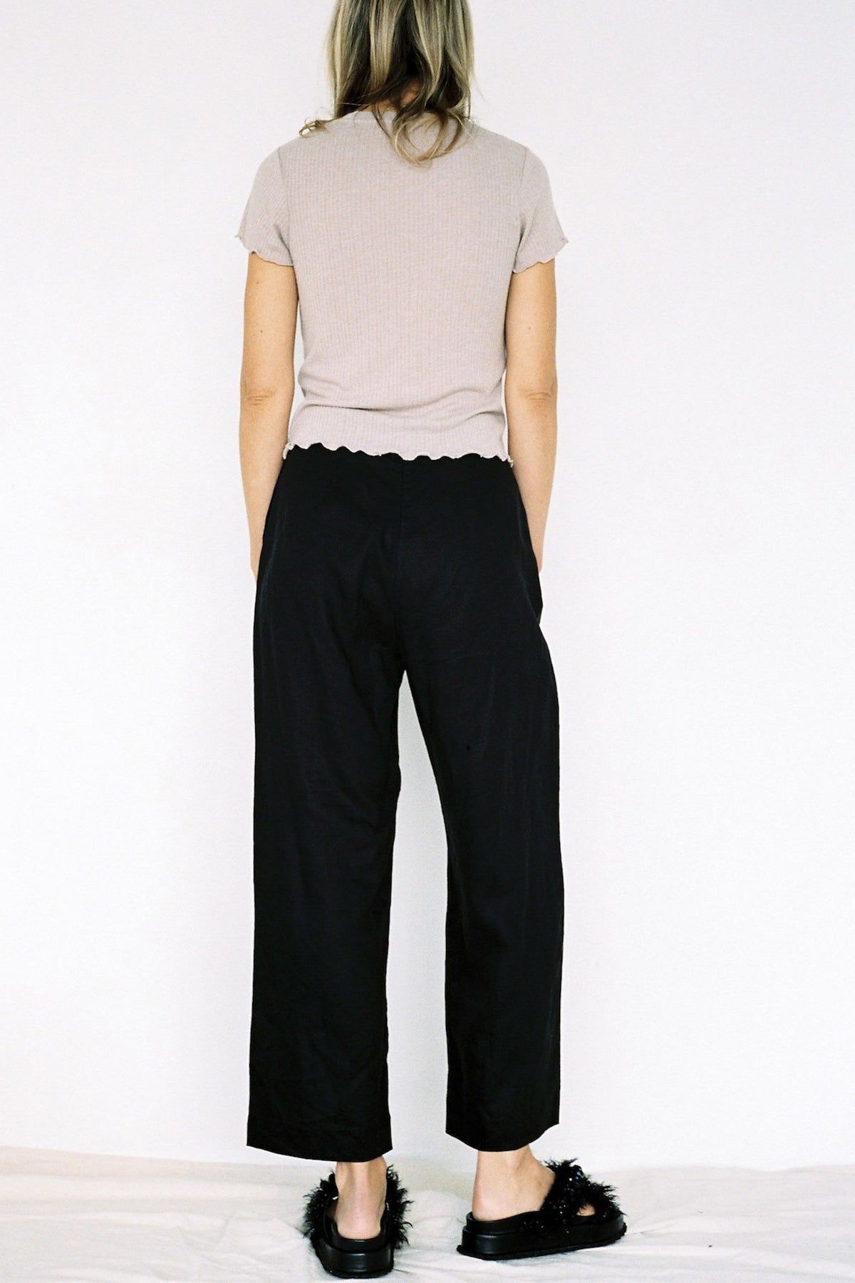 Lonely Holly Pant // Black