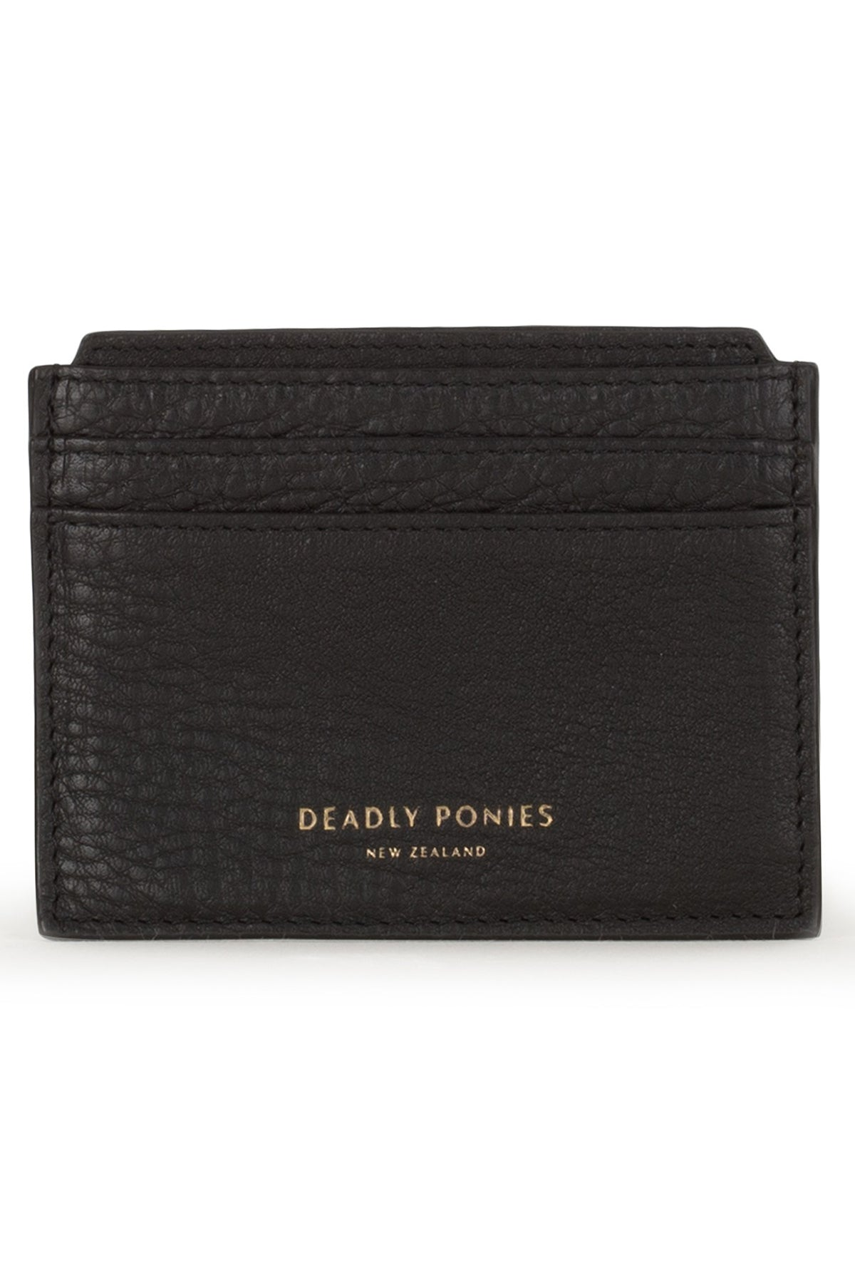 Deadly Ponies Card File // Black