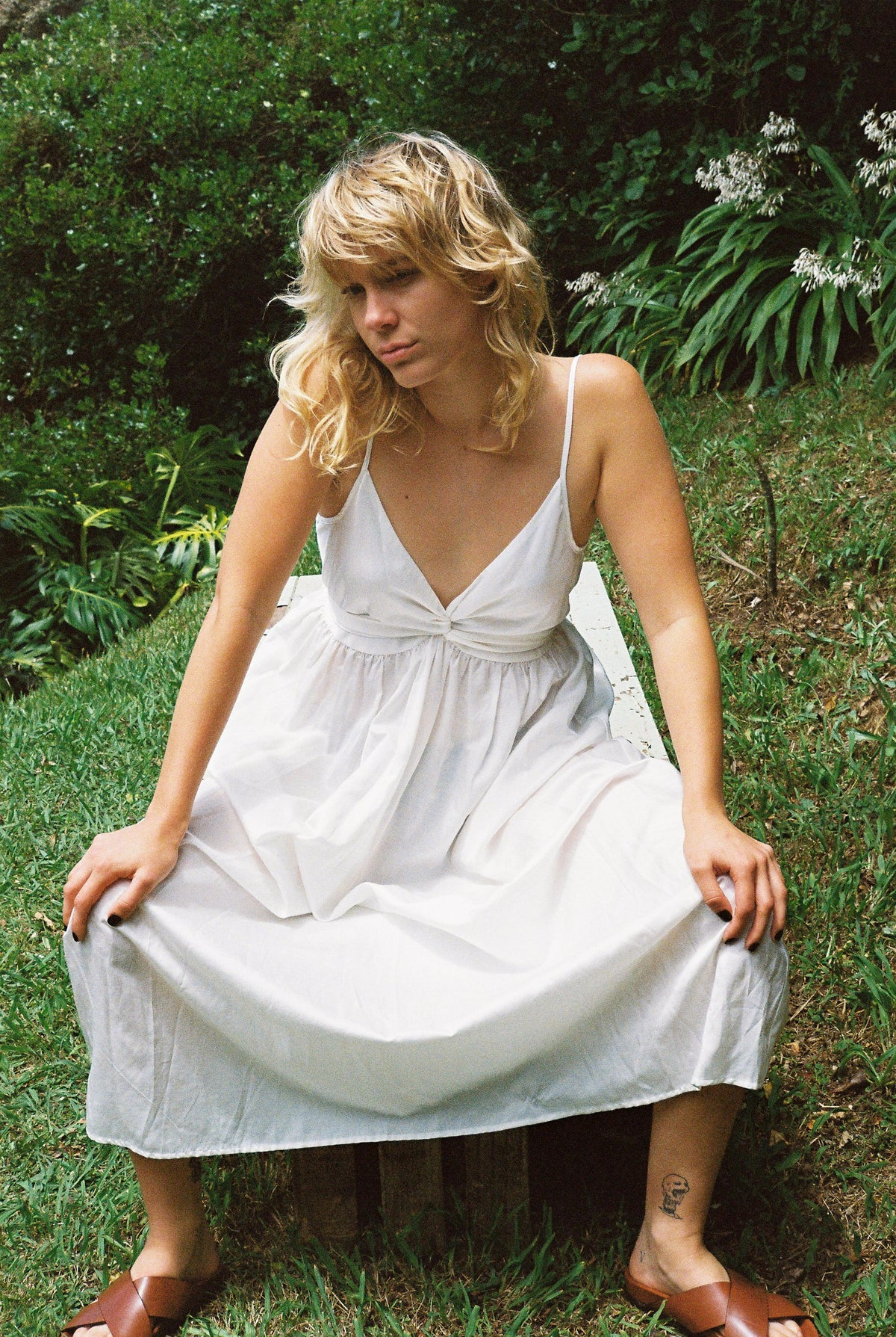 Lonely Hilma Dress // Ivory