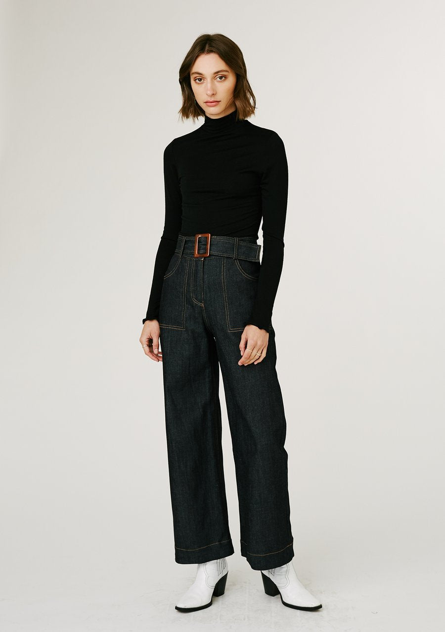 Jillian Boustred Olivia Trousers // Dark Denim